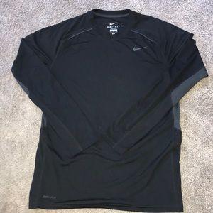 Nike Dri Fit long sleeve athletic top